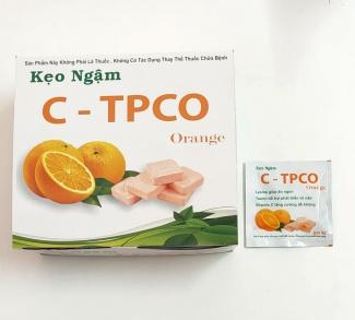 SẢN PHẨM MỚI- KẸO NGẬM C-TPCO